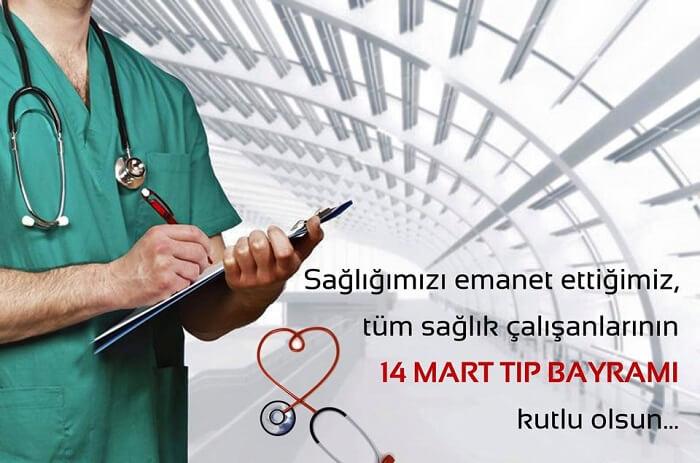 Sağlığımızı Emanet Ettiğimiz Sağlıkçılarımızın Günü; 14 Mart